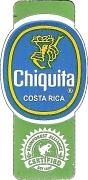 Chiquita ® COSTA RICA Rainforest ALLIANCE CERTIFIED EST 1987